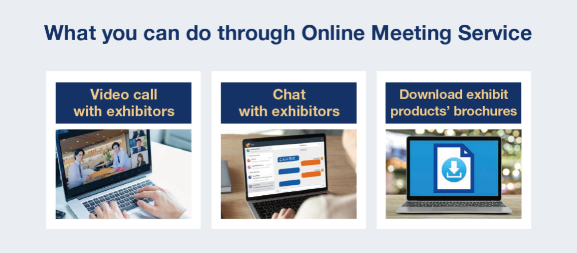What you can do through Online Meeting Service